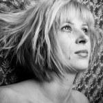blondýna v slzách — 图库照片