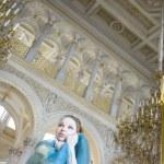 王女は宮殿で — ストック写真