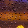 Stock Photo: Drops and bokeh