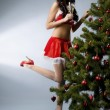 Santa girl — Stock Photo #7489311