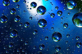 Planets from the bubbles of water — Stock Photo