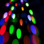 Bright spots of light — Stock Photo