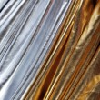 Foto Stock: Luxurious silver and gold fabric