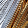 Foto de Stock  : Luxurious silver and gold fabric