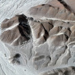 Nazca Lines - Astronaut - Aerial View — Stock Photo