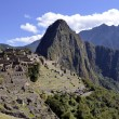 Panoramof Machu Pichu with HuaynPicchu — Stock Photo #7477986
