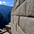 Inca Wall - Side of a Temple on Machu Picchu — Stock Photo