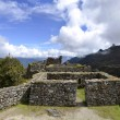View of Ruins with Andes on the Inca Trail — Stock Photo #7478378