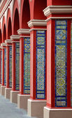 Arch Columns with Colorful tiles - Lima