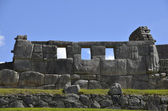 Ancient Inca Temple on Machu Picchu — Stock Photo