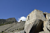 Ancient Inca Sun Temple on Machu Picchu — Stock Photo
