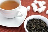 Tea and herbs — Photo