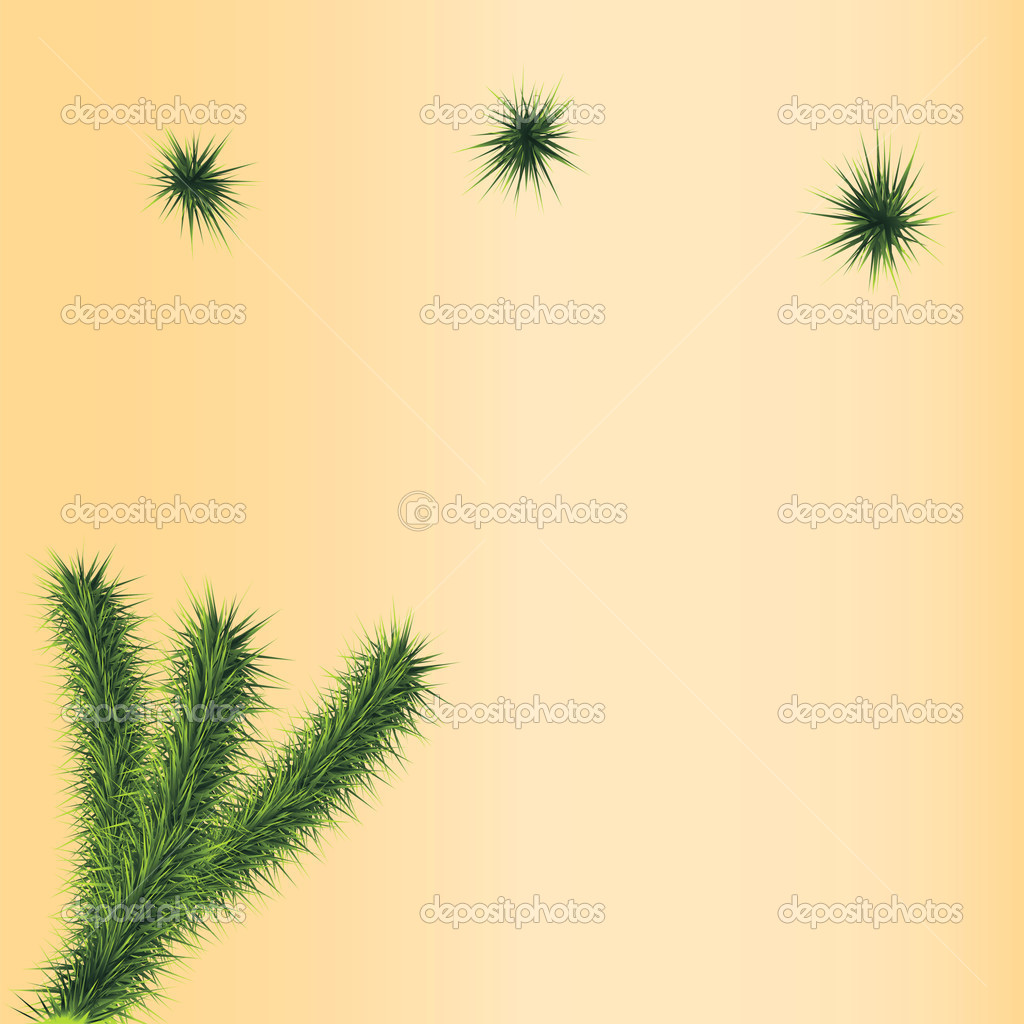 New year tree spruce background paper sign — Stock Vector #7562969