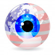 Royalty-Free Stock Vector Image: American eye