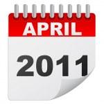 April 2011 — Stock Vector #7502366