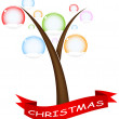 Christmass tree - Stock Vector