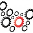 Stock Vector: Gears designs