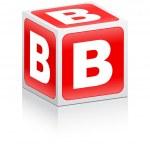 Letter b — Stock Vector #7503251