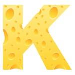 Letter k — Stock Vector #7503272