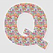 Royalty-Free Stock Vector Image: Letter q