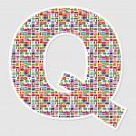 Letter q — Stock Vector #7503326