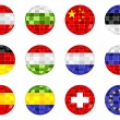 World flags — Imagen vectorial