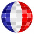 France flag — Stock Vector #7503545