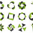 Recycling icons — Stock Vector #7503749