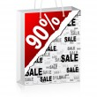 Ninety percent discount — Stock Vector #7503832