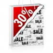 Royalty-Free Stock Vector Image: Thirty percent discount