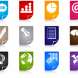 Office icons — Stock Vector #7504157