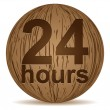 Twenty four hours — Stock Vector #7504234