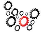 Gears designs — Stok Vektör