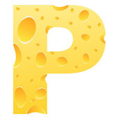 手紙 p — ストックベクタ