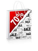 Seventy percent discount — Stock Vector