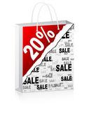 Twenty percent discount — Stock Vector