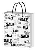 Shopping bag for advertising — Stock Vector
