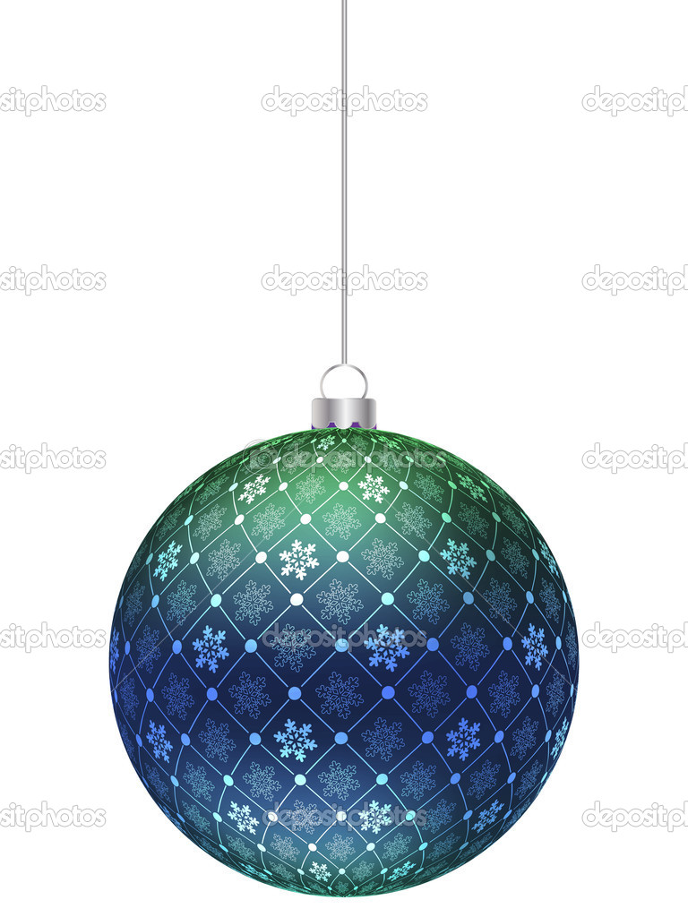 Christmas globe — Stock Vector #7502694