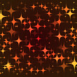 Colorful background stars pattern — Image vectorielle