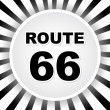Route 66 — Vettoriale Stock #7528227