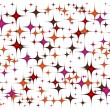 Colorful background stars pattern — Stock Vector