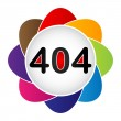 Royalty-Free Stock Vector Image: Error 404