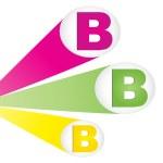 Letter b — Stock Vector #7528386