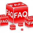 Frequently asked questions - Stock Vector