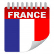 France day — Stockvectorbeeld