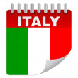 Day of italy — Stock Vector