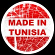 Made in tunsia - Stock Vector