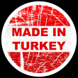 Made in turkey - Stock Vector