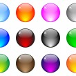 Stock Vector: Web buttons