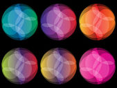 Colorful balls — Stock Vector